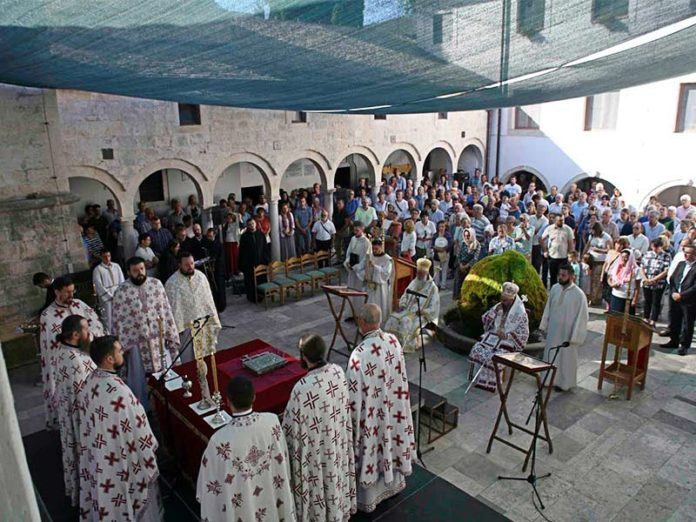 Preobraženje Manastir Krka episkop Nikodim episkop Longin