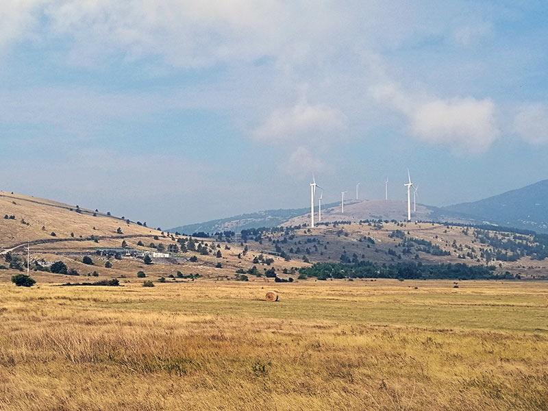 Podljut Lika vetroelektrane