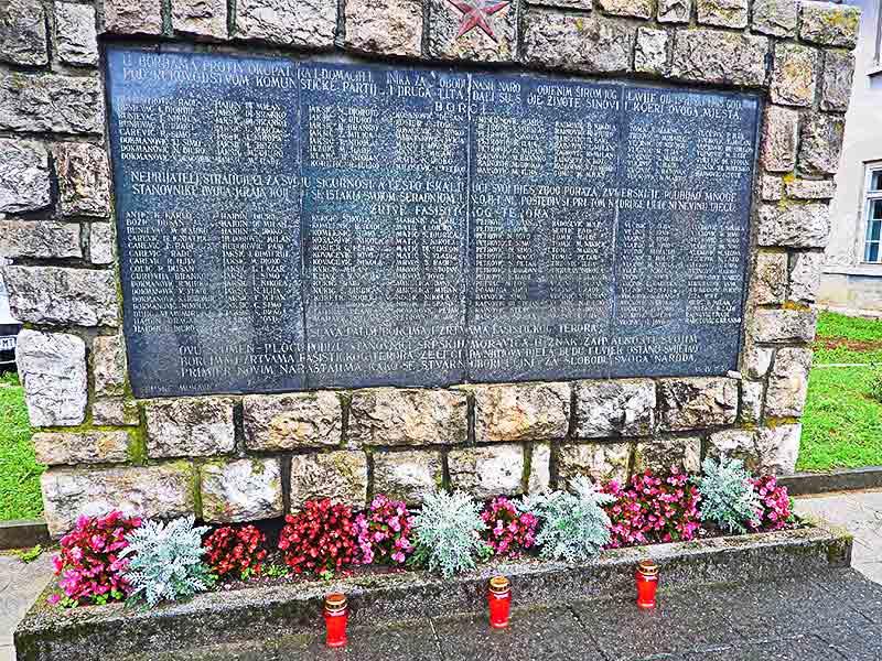 Moravice spomenik poginulim u Jadovnom