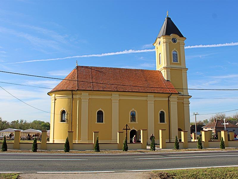 crkva-banovci Šidski Banovci