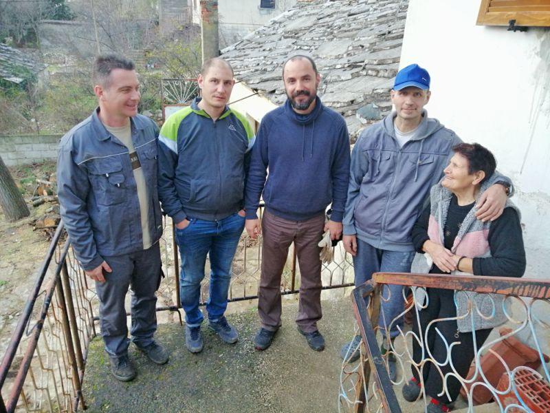 SNV donacije drva porodica Košević
