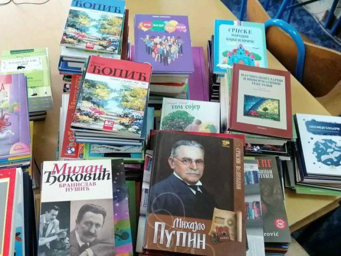 Donacija knjiga Osnovna škola Negoslavci