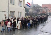 bogojavljenska litija i krst Vukovar