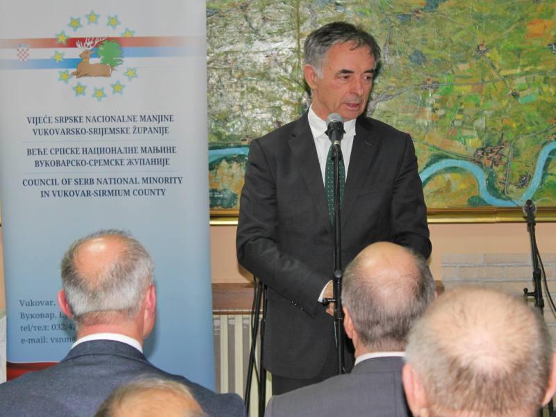 slava Veća srpske nacionalne manјine Vukovarsko–sremske županije Milorad Pupovac