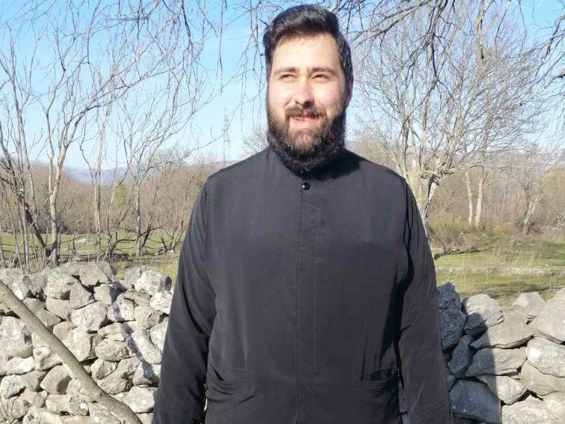 sveštenik Borislav Kovačević Knin