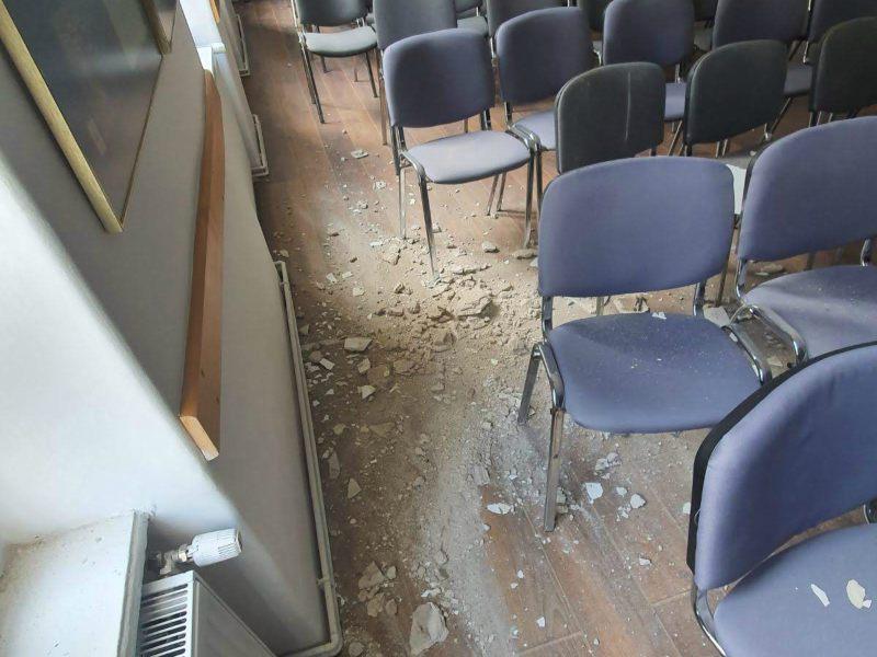 zemljotres u Zagrebu dvorana Privrednik