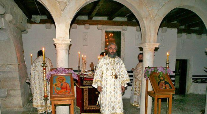 Episkom Nikodim u Manastiru Krka Vaskrs u Dalmaciji