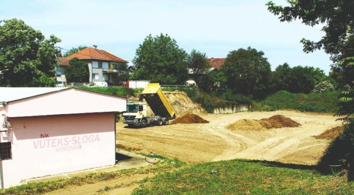 kapitalne investicije SNV fk vuteks-sloga vukovar