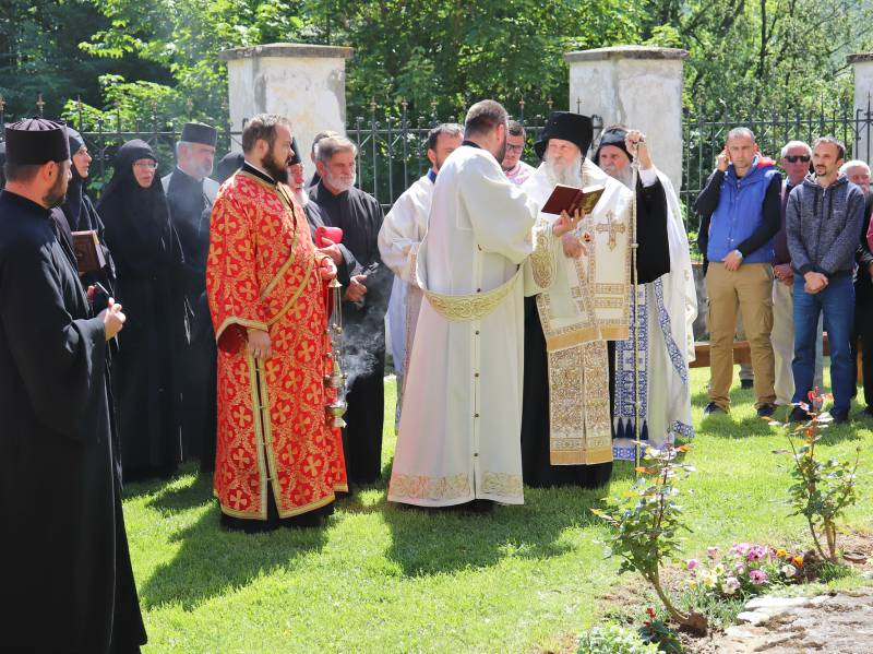 Manastir Orahovica vladika Jovan