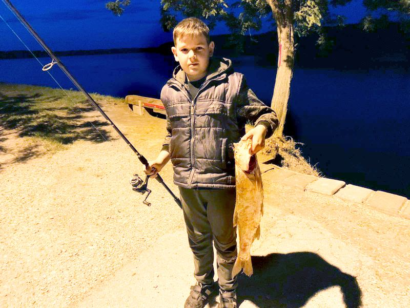 Andrej Simić pecanje dunav borovo bucov