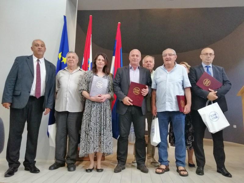 VSNM Šibensko-kninske županije priznanja