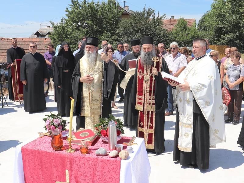 Nova Gradiška temelj crkva svetog nikolaja osvećenje episkop pakračko slavonski jovan mitropolit zagrebačko ljubljanski porfirije
