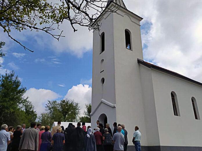 Dragović obnova hrama svetog velikomučenika i arhiđakona stefana