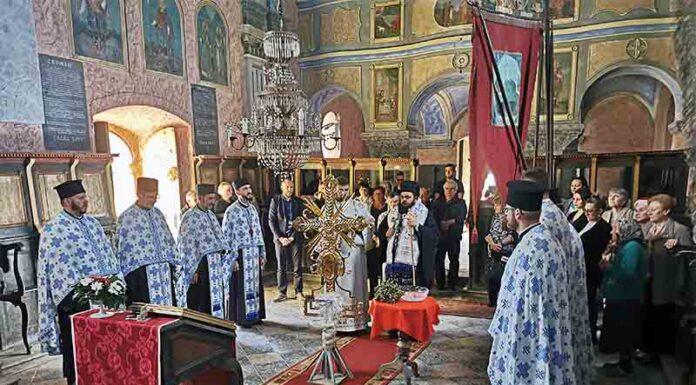 Šarengrad episkop osečkopoljski i baranjski heruvim hram svetih arhangela mihaila i gavrila osveštanje časnog krsta