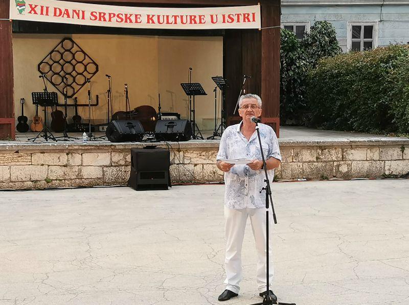 Srbi u Puli Miomir Jeremić