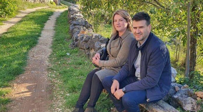 Anja Šimpraga i Ognjen Vukmirović