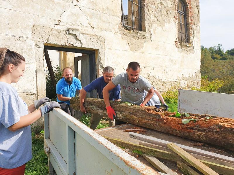 Omladinska mreža srba u hrvatskoj jošavica radna akcija