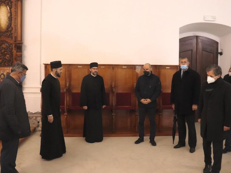 Polaganje venaca hram sv nikolaja mirlikijskog milorad pupovac boris milošević veran matić