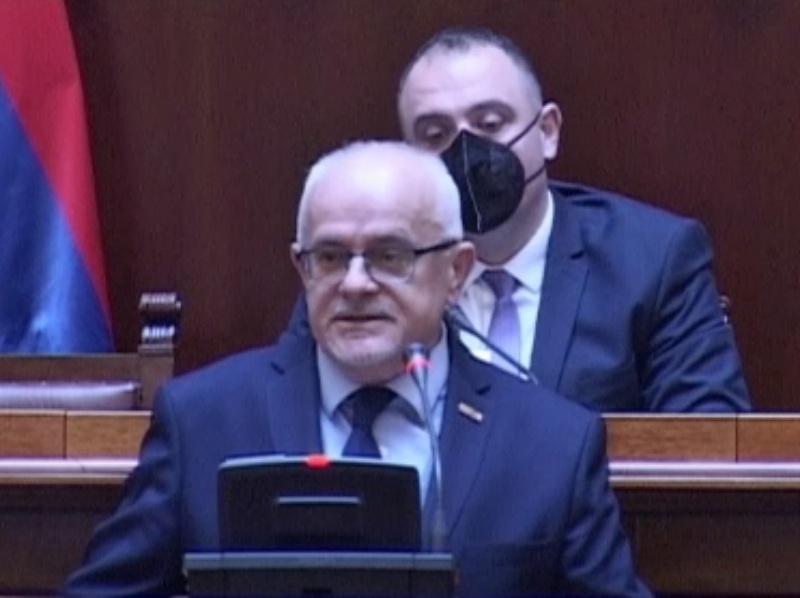 Emil Labudović skupština Srbije