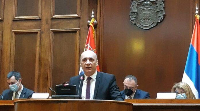 Jeremić Skupština Srbije