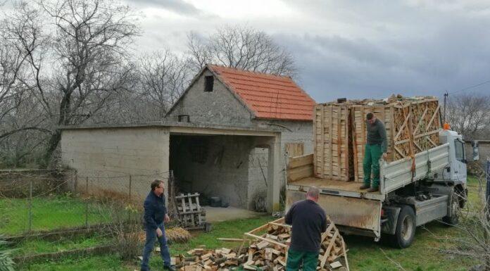 SNV donacija drva