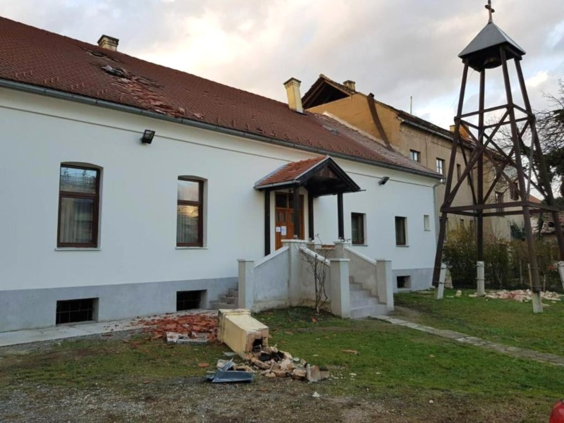 Zemljotres sisak kapela svete petke