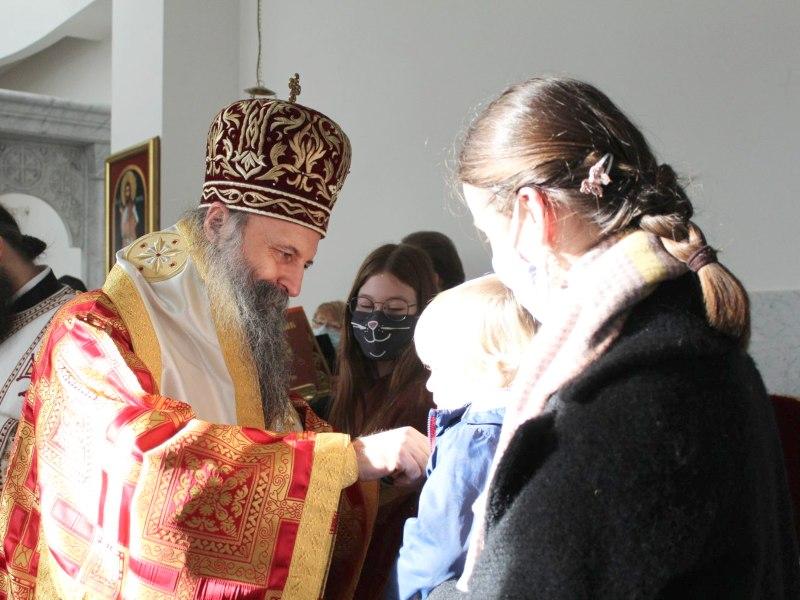 Sveti Sava pravoslavna gimnazija zagreb mitropolit porfirijer
