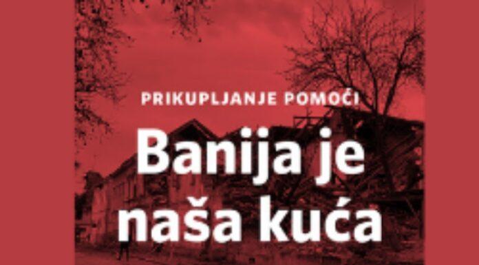 Banija je naša kuća