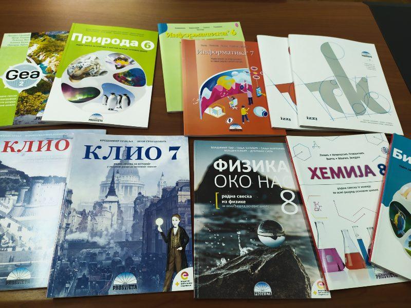 ZVO udžbenici na srpskom jeziku tekst