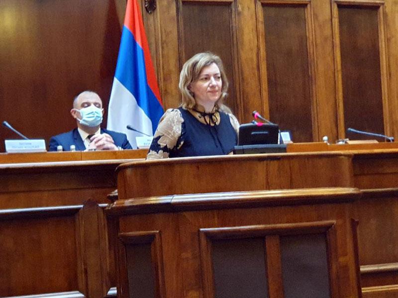 sednica Odbora za dijasporu i Srbe u regionu Skupštine Republike Srbije  Dragana Jeckov