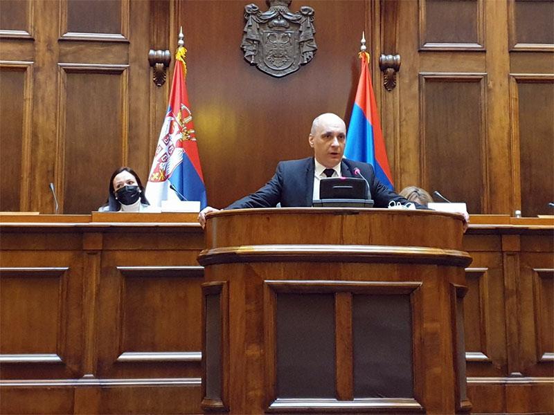 sednica Odbora za dijasporu i Srbe u regionu Skupštine Republike Srbije  Srđan Jeremić