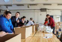 Mladi Srbi Vrginmost radna akcija