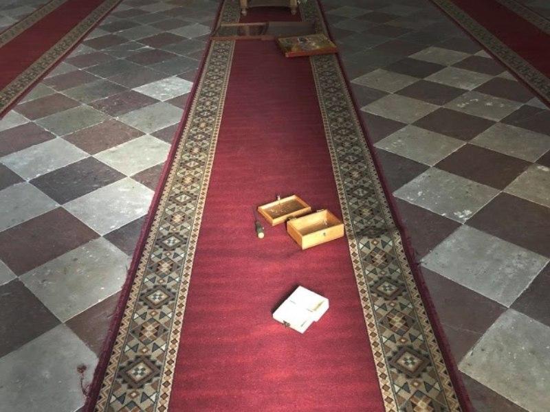 Hram Svetog Spasa u Šibeniku provala vandalizam