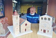 Goran Petović makete crkava