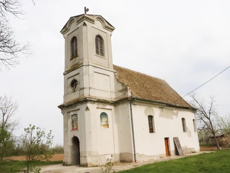Hram Svetog velikomučenika Georgija selo Marinci