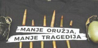 Manje oružja manje tragedijaManje oružja manje tragedija