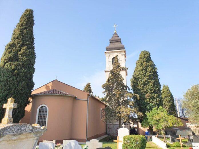 crkve Svetog Spiridona Peroj