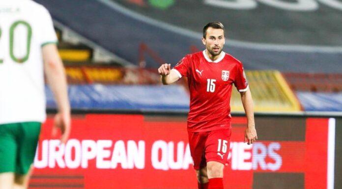 Milan Gajić fudbalska reprezentacija Srbije