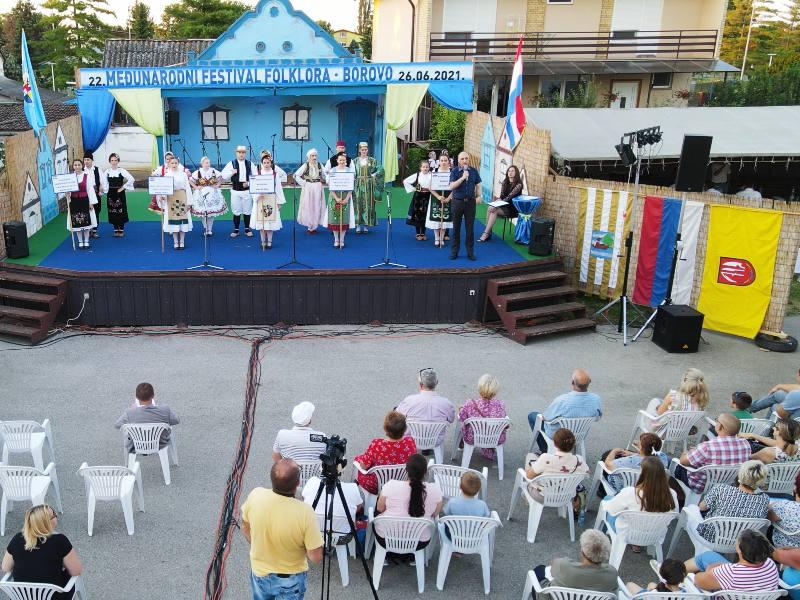 Međunarodni festival folklora Borovo