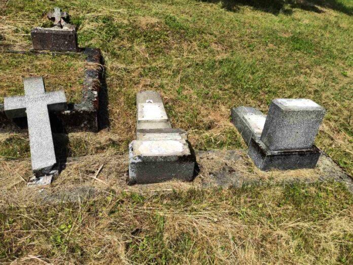 Vandalizam na pravoslavnom groblju kovačevac nova gradiška