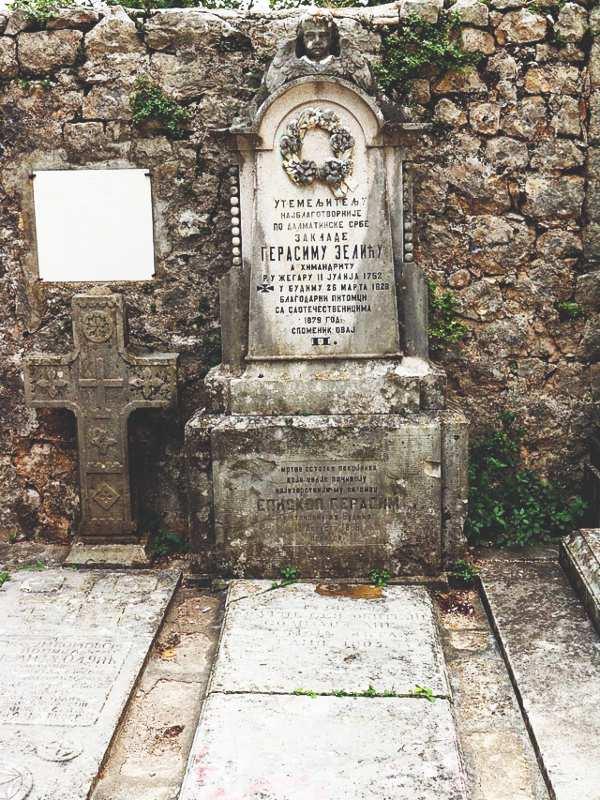 Gerasim Zelić grob manastir Krupa