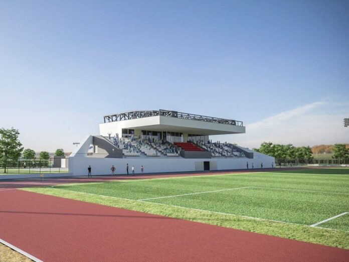 novi gradski stadion Beli Manastir