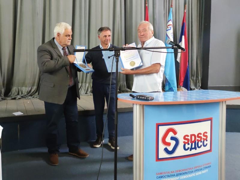 Milorad Pupovac Vojislav Stanimirović Petar Petrović Glavna skupština SDSS Vukovar