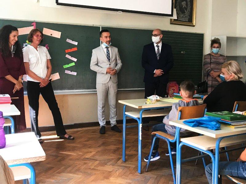 Početak školske godine OŠ Jagodnjak Dejan Drakulić Duško Ćutilo
