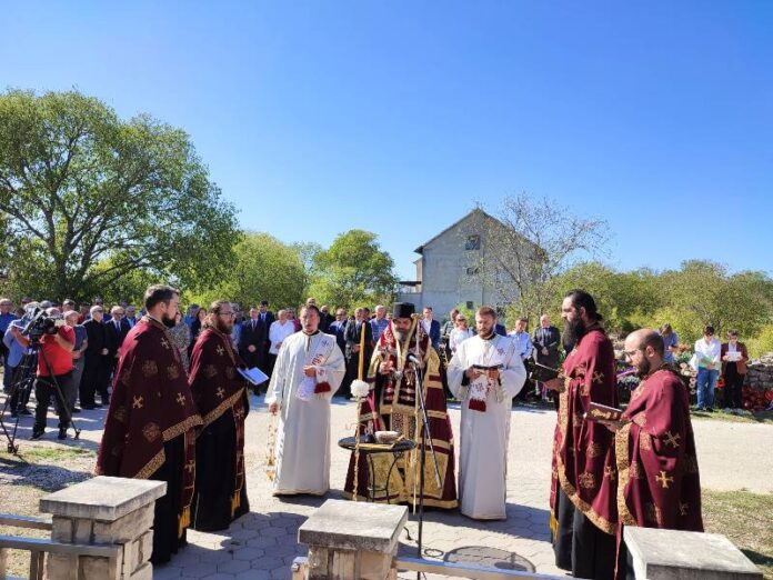 Varivode i Gošić komemoracija episkop Nikodim