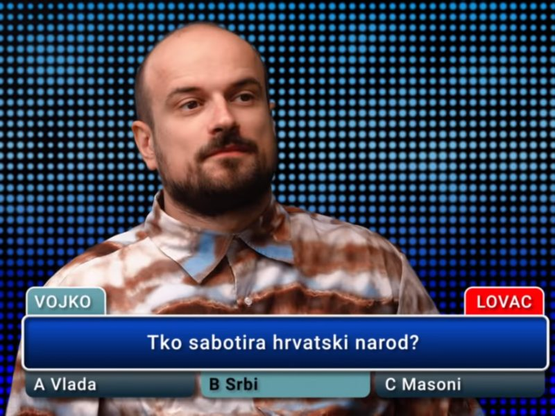 Vojko V Neko me sabotira Srbi u hrvatskoj popularnoj kulturi